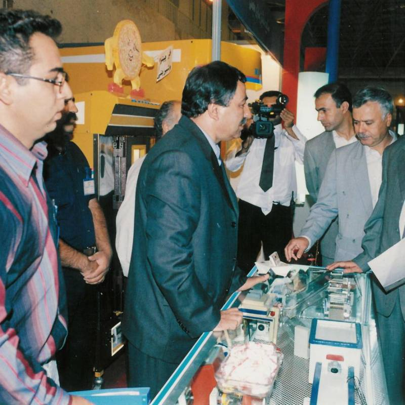 بازدید مقامات از صنایع ماشین سازی مجملی